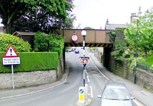 Bridge in Waddington Road, Clitheroe