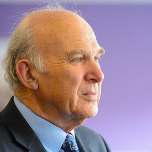 Vince Cable says supporting innovative businesses is crucial to building a str