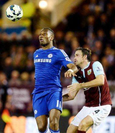 Michael Duff challenges Didier Drogba