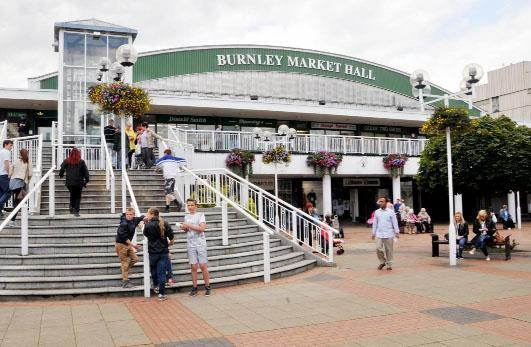A report on Burnley market's future will be debated by the council
