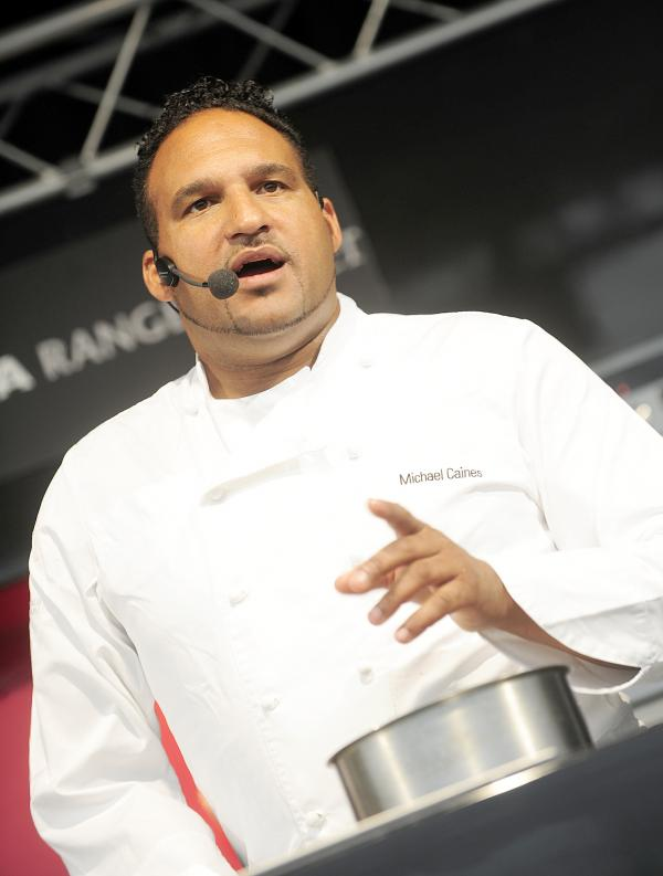 Celebrity chef Michael Caines