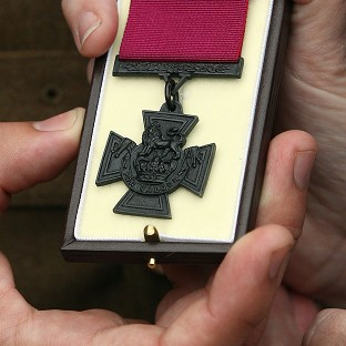 Recipients of the Victoria Cross are being honoured as part of First World War commemorations