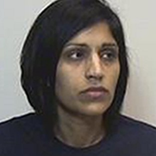 Rosdeep Adekoya has been jailed for 11 years for killing her three-year-old son Mikaeel Kular (Crown Office/PA)