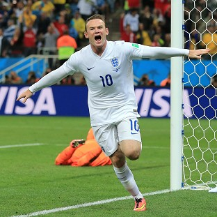 Wayne Rooney has been given the England armband