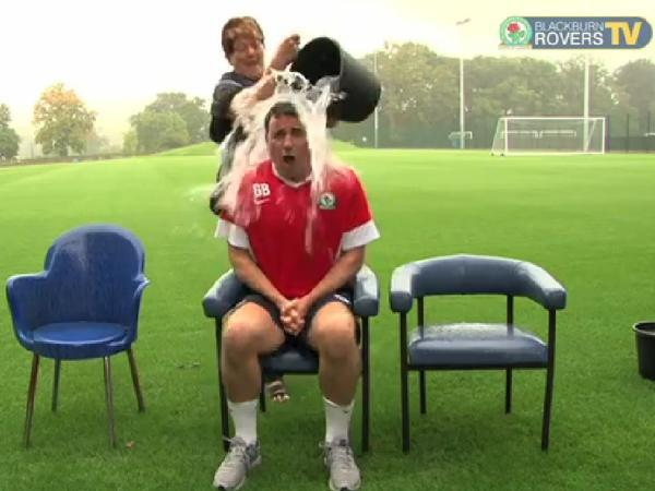 Rovers boss Bowyer takes on ALS Ice Bucket Challenge