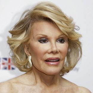 Joan Rivers was rushed