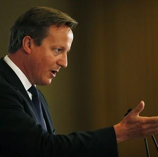 Prime Minister David Cameron will urge fellow European leaders to ratchet up the press