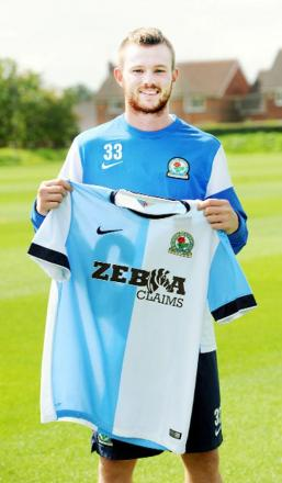Blackburn Rovers new boy Ryan Tunnicliffe