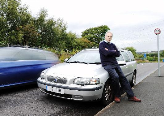 Businessman John Brewin who successfully contested his speeding fines