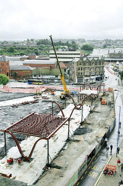 £5m Blackburn bus station taking shape