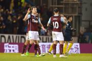 Ashley Barnes and Danny Ings celebrate