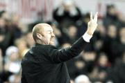 HAPPY: Burnley boss Sean Dyche was pleased with a lot of what the Clarets did at White Hart Lane