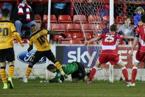 Accrington Stanley suffer home defeat