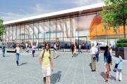 VISION: An artist's impression of how Blackburn's new bus station will look when it finally opens