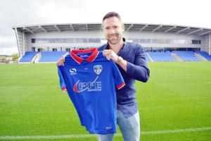 Former Blackburn Rovers favourite David Dunn appointed permanent Oldham Athletic manager