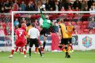 FINE FORM: Accrington Stanley goalkeeper Jason Mooney has impressed in the opening month of the season
