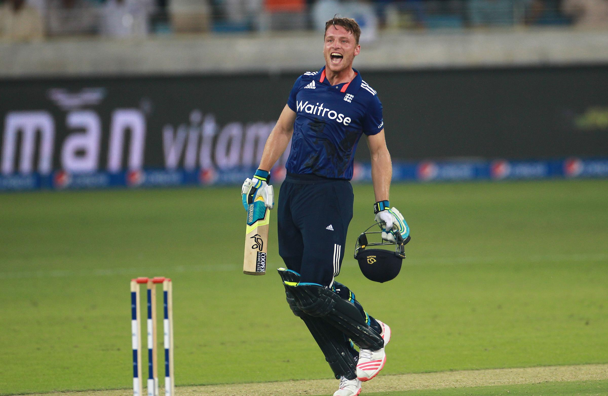 FORM: Jos Buttler could be in line for a Test recall after his stunning ODI performances against Pakistan