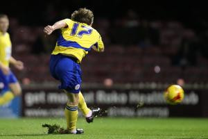Shay McCartan delighted to be off the mark for Accrington Stanley
