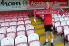 NEW BOY: Scott Brown has signed for Accrington Stanley until the end of the season