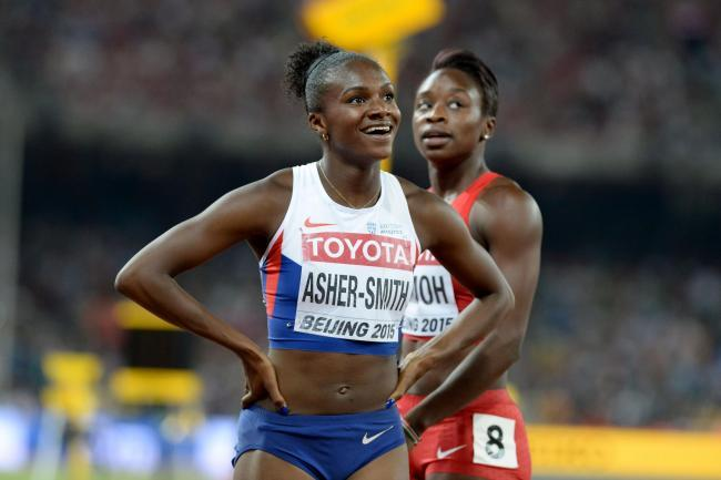 Dina Asher-Smith in action. Picture: British Athletics
