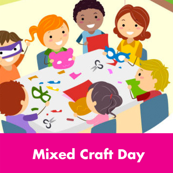 Kids Summer Events – Mixed Craft Day