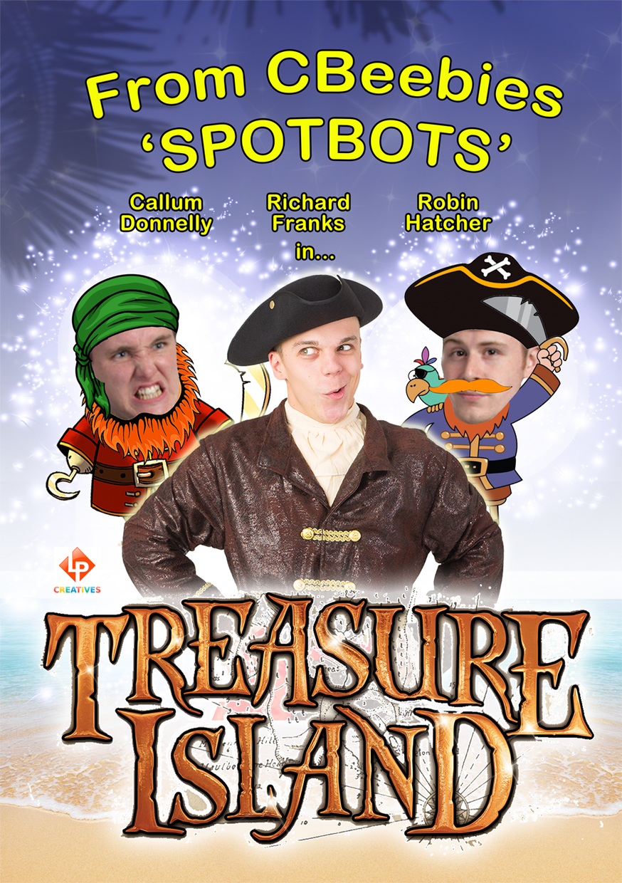CBeebies 'SPOTBOTS' star in Treasure Island