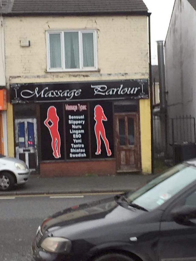 Uk Massage Parlour Video