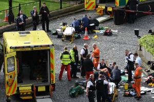 Five dead as knifeman brings terror to heart of Westminster