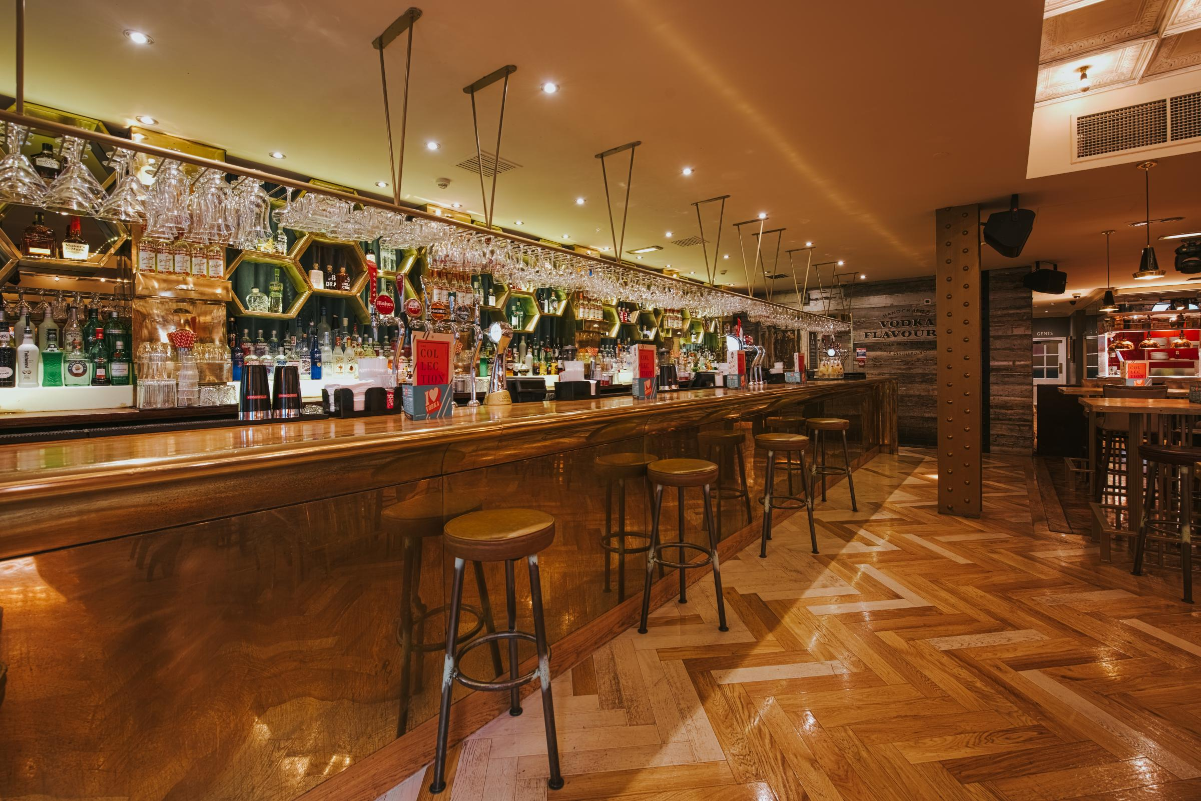 Christmas Parties at Revolution Parsonage Gardens