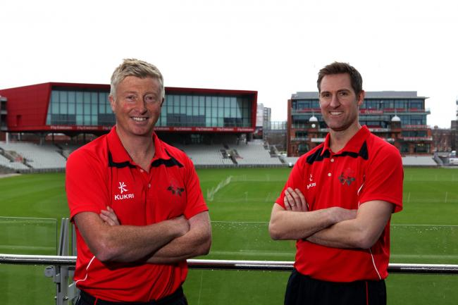 LANCASHIRE COUNTY CRICKET CLUB.Emirates Old Trafford.Glen Chapple Head Coach.Mark Chilton Asst. Head Coach..