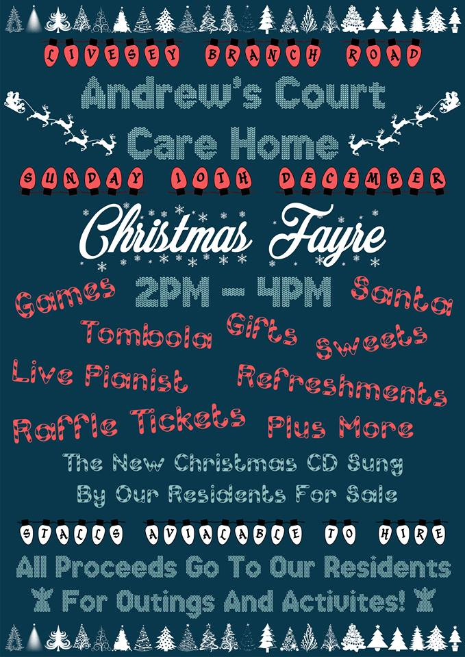 Andrew's Court Christmas Fayre