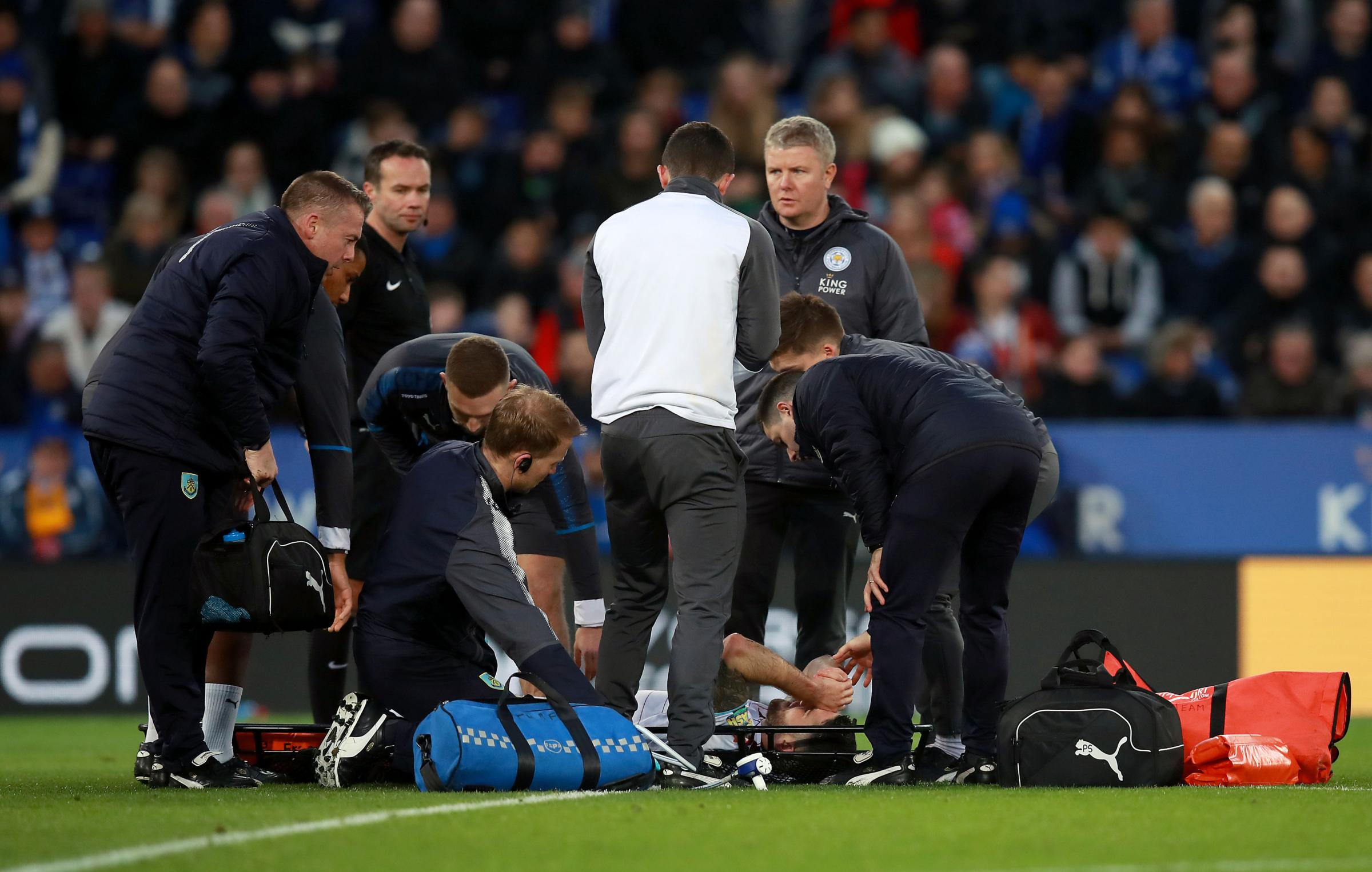 Robbie Brady was stretchered off against Leicester City last weekend