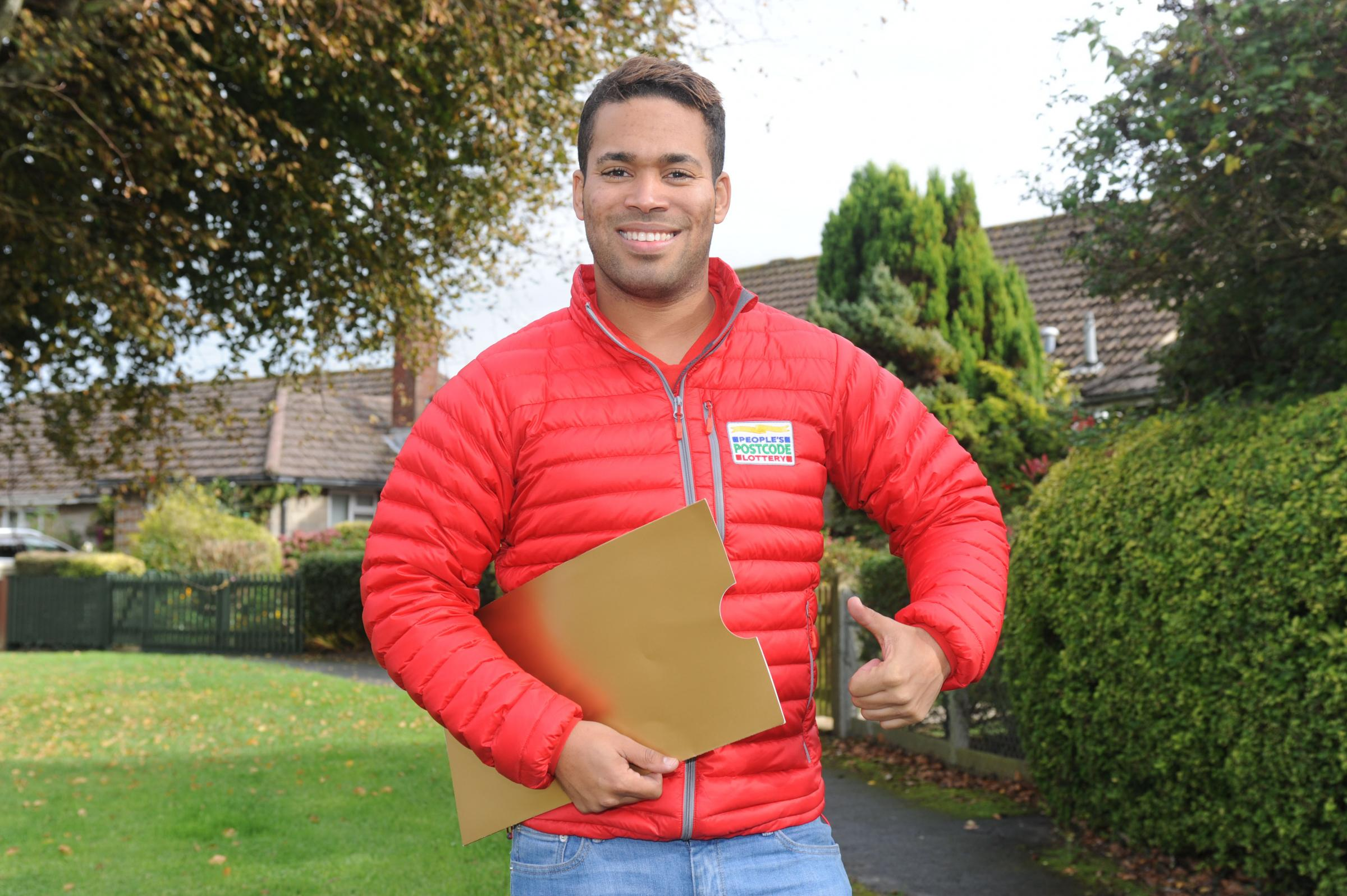 People's Postcode Lottery Ambassador, Danyl Johnson