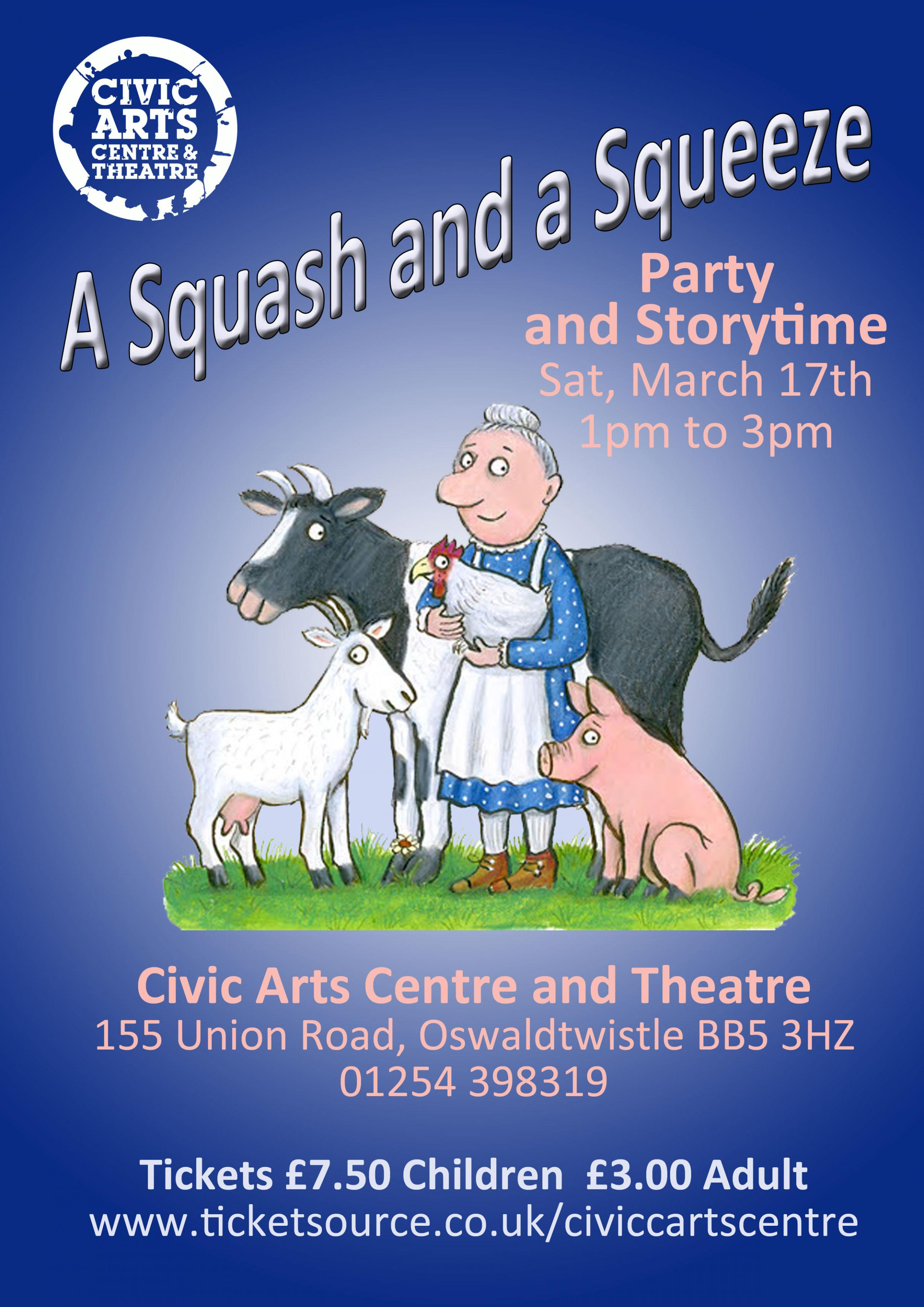 A Squash & a Squeeze - Storytime & Party