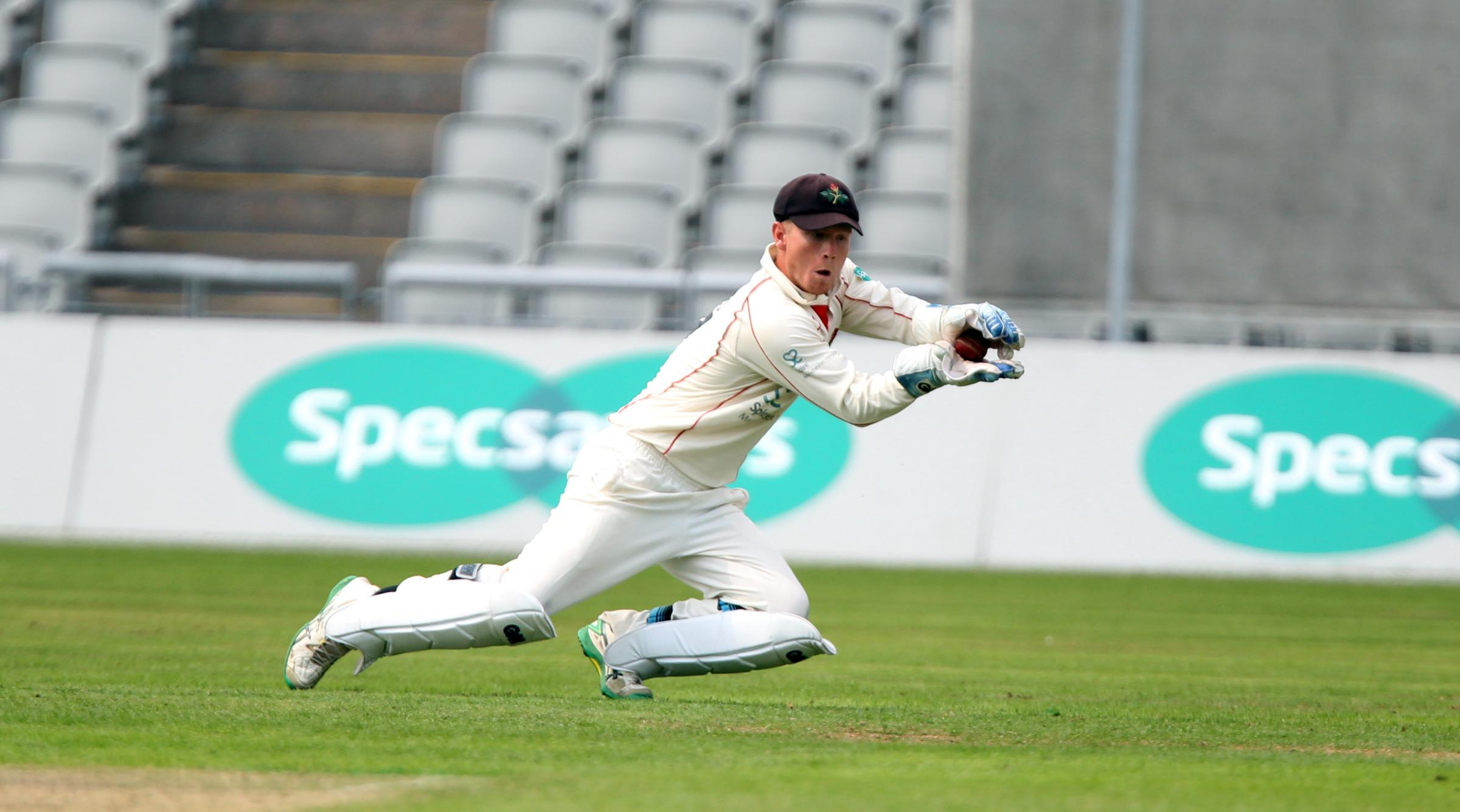 Alex Davies is looking forward to resuming wicket-keeping duty for Lancashire sooner rather than later