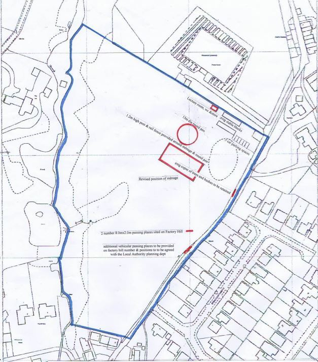STABLES: Planners will decide on an application for a change of land use