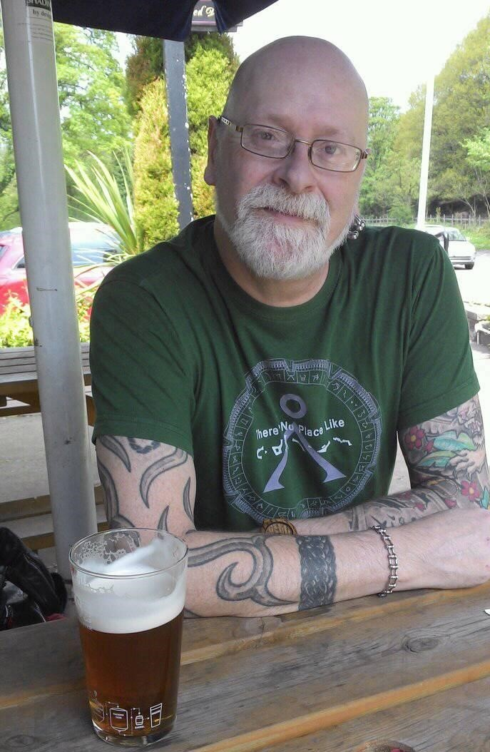 Christopher Wood, 57, died when his motorcycle was involved in a collision on the Eccles Interchange on Friday, May 18
