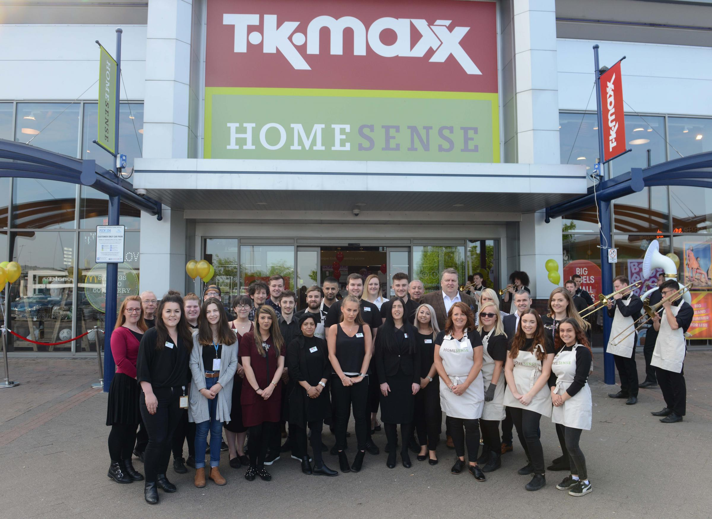 A new Homesense store in Middlebrook, Bolton, Lancs., has opened this morning within the existing TK Maxx store. 24 May 2018..