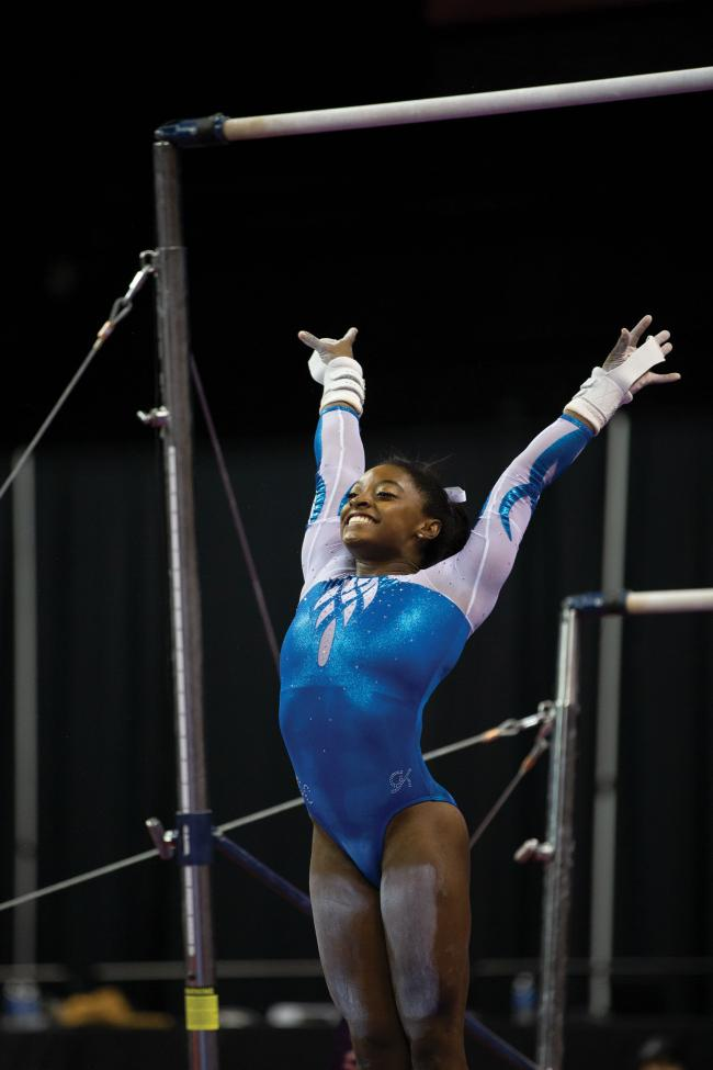 Simone Biles joins Superstars Of Gymnastics event at The O2 Arena