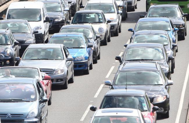 Delays on M65 near Blackburn and Rishton following car crash
