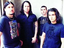 HEROES: American band Trivium who dedicated their concert in Manchester to fan Adam Riaz