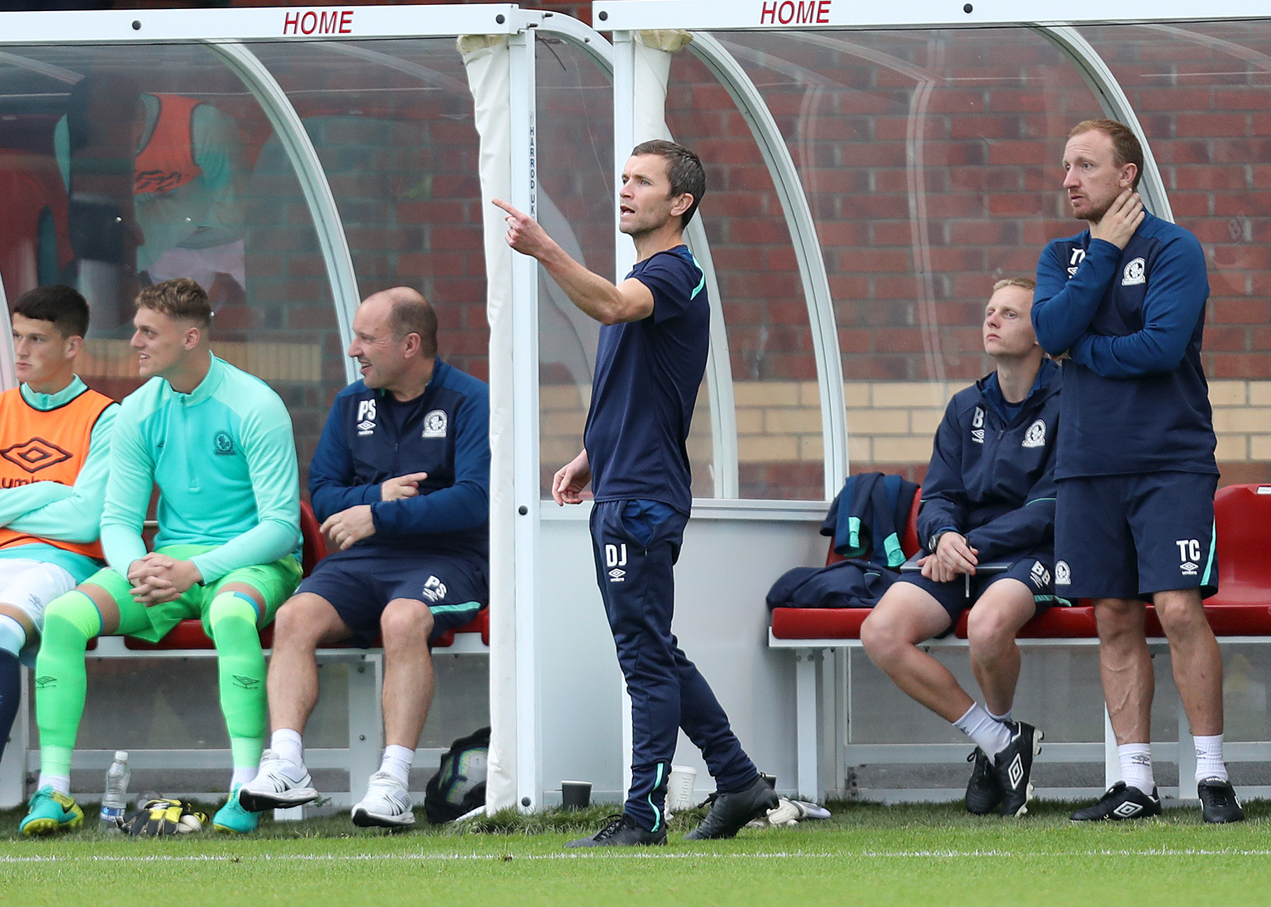 Rovers Under-23s boss Damien Johnson
