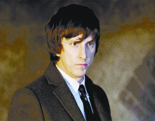 SHAW THING: Lee in a scene from the detective series George Gently