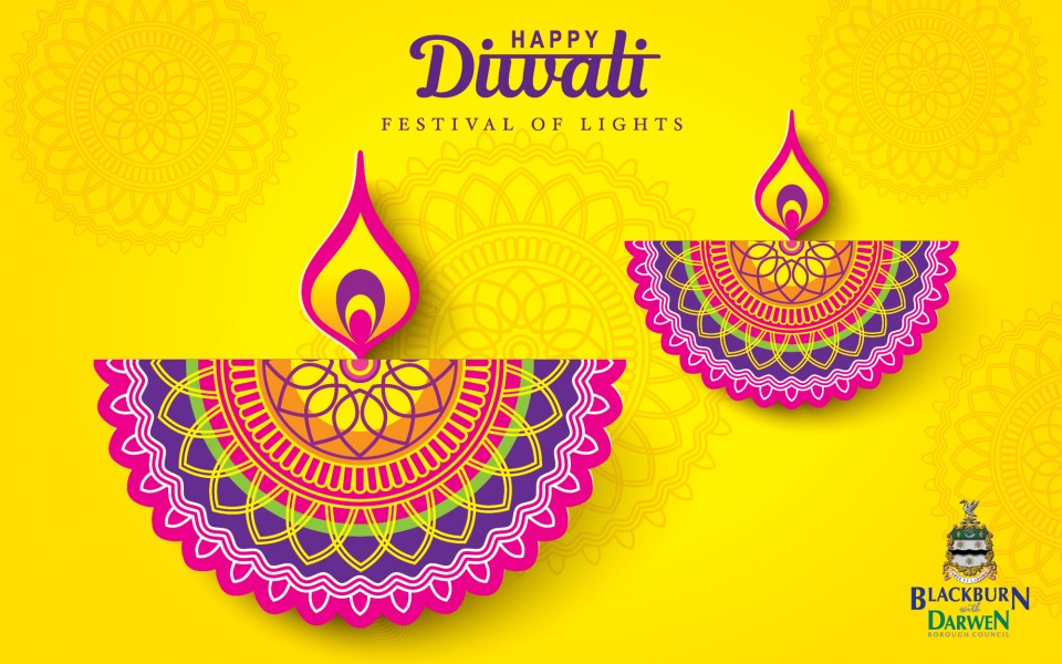 Diwali celebration invitation