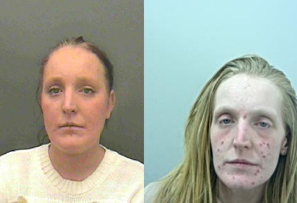 Claire Louise Townsend broke into a number of shops in Accrington and was handed a six month jail sentence
