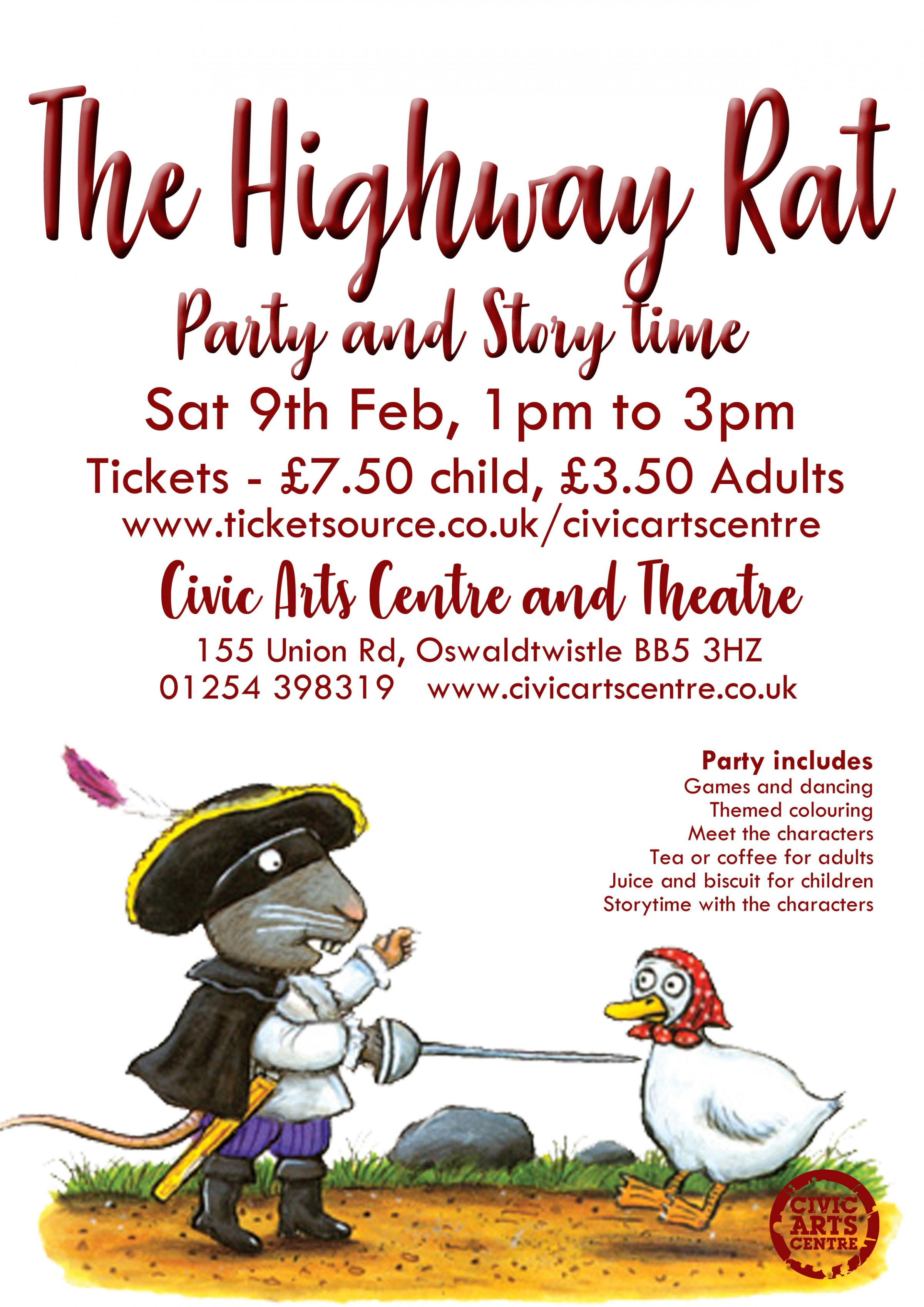 The Highway Rat - Party & Storytime