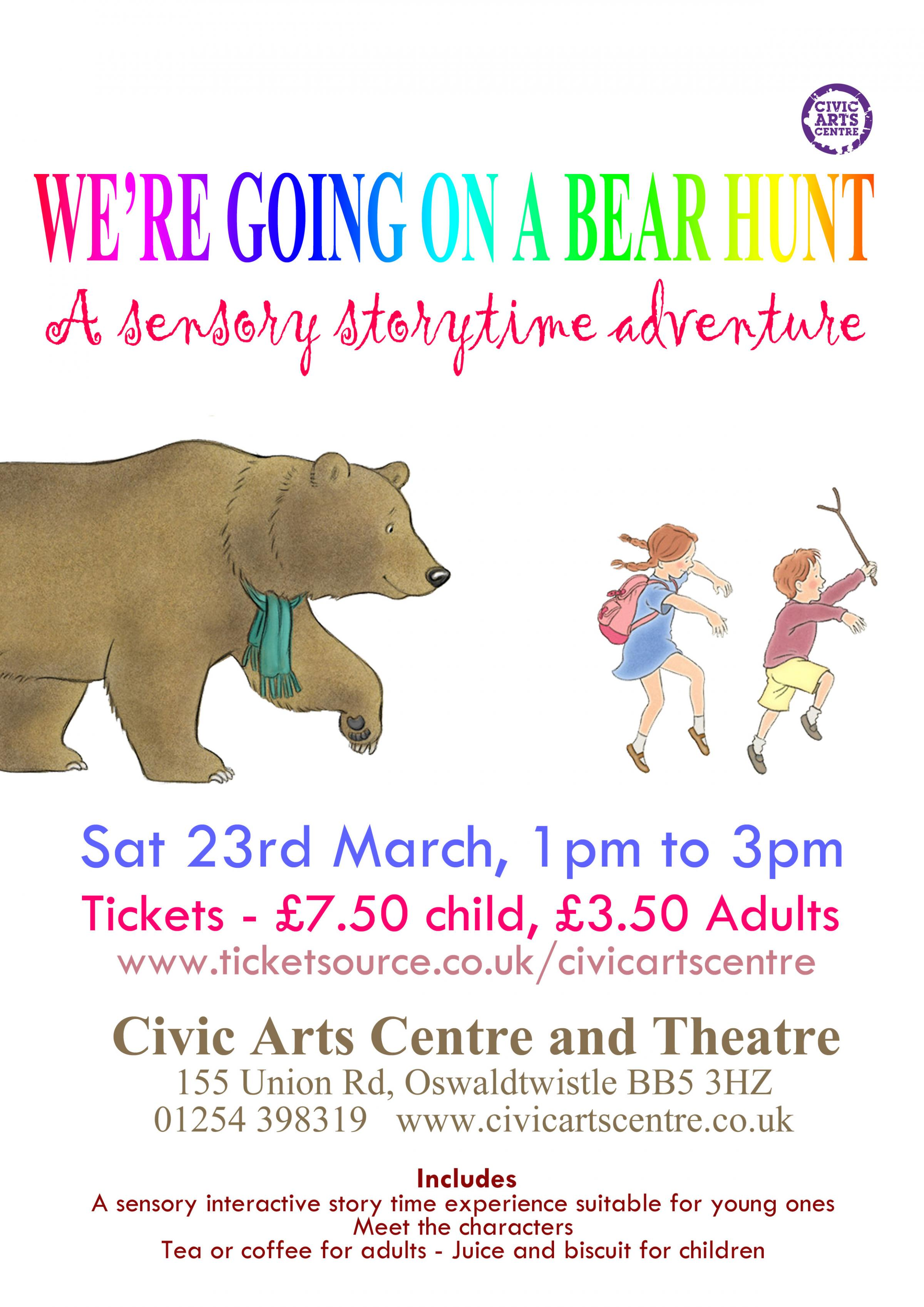 We're Going on a Bear Hunt - Sensory Storytime Adventure