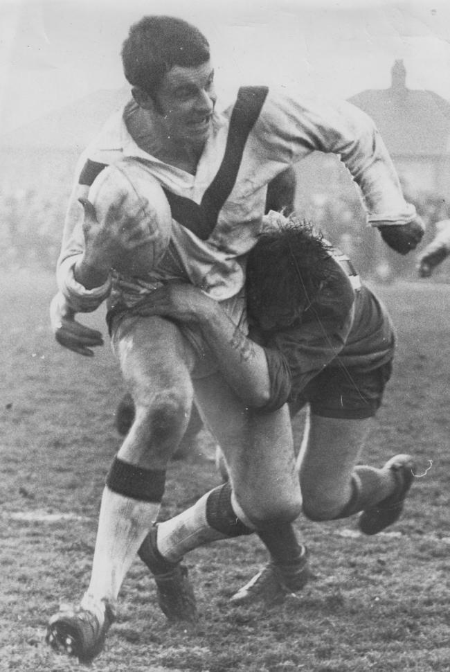 John Mantle in his playing days with St Helens