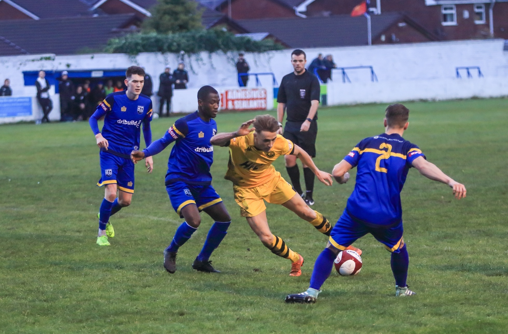 Atherton Colls in action/ Picture: David Featherstone