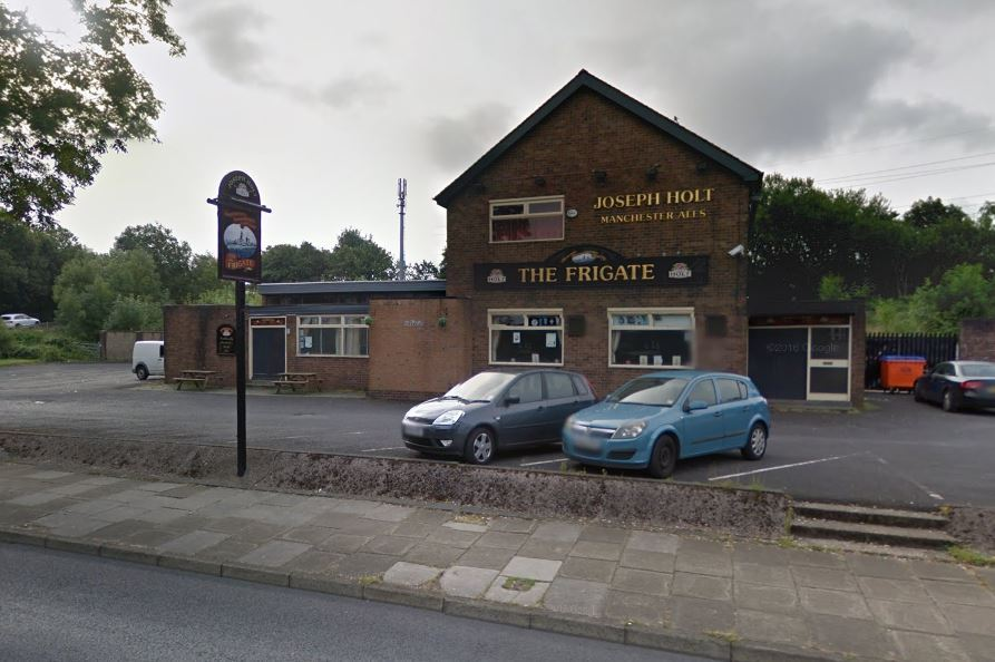 The Frigate pub in Thatch Leach Lane, Whitefield. Photo: Google Maps